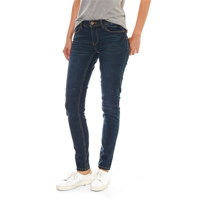 Best Mountain JEANS SKINNY NERO