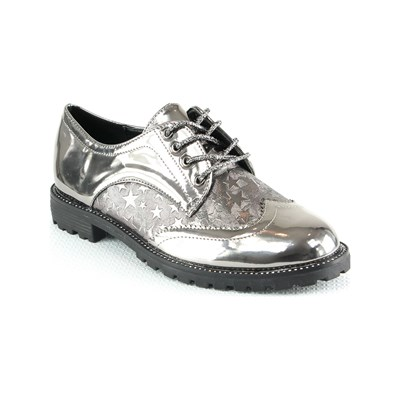 Poti Pati DERBIES GRIS Chaussure France_v2270