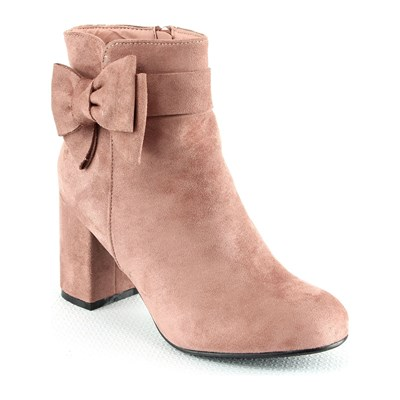 R and Be BOTTINES ROSE Chaussure France_v3771