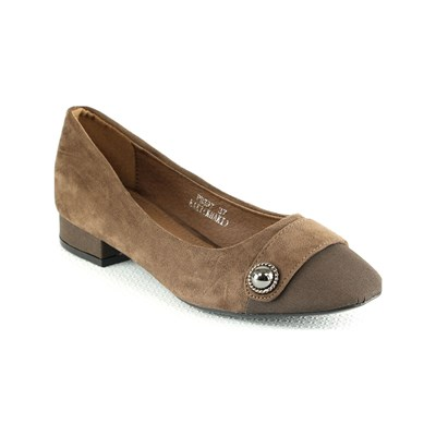 R and Be BALLERINES MARRON