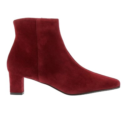 Elizabeth Stuart ERZA BOTTINES EN CUIR ROUGE Chaussure France_v16684