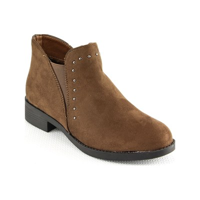 Suredelle BOOTS TAUPE Chaussure France_v3819