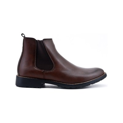 Uomo BOOTS CAVALIÈRES MARRON Chaussure France_v4741