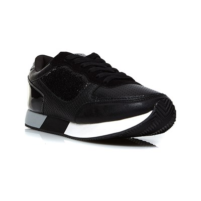 Only LOW SNEAKERS SCHWARZ