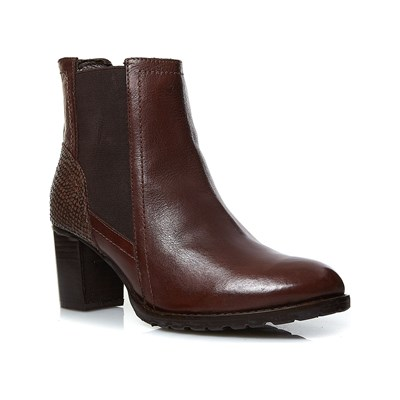 Kickers UMANE BOTTINES EN CUIR MARRON Chaussure France_v8495
