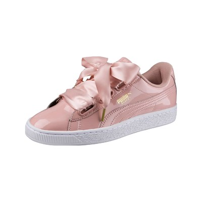 Puma HEART BASKETS BASSES ROSE Chaussure France_v7604