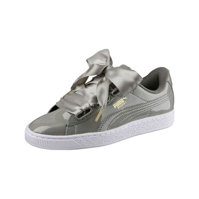 Puma HEART BASKETS BASSES VERT Chaussure France_v7605