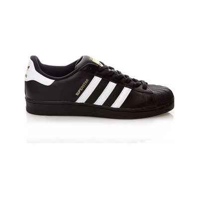 adidas Originals SUPERSTAR LEDERSNEAKERS SCHWARZ