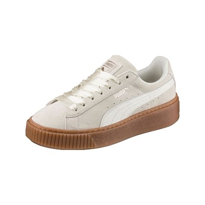 Puma BUBBLE LEDERSNEAKERS GRAU