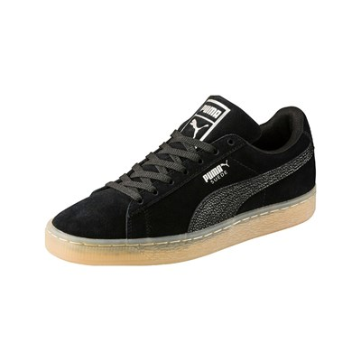 Puma BUBBLE LEDERSNEAKERS SCHWARZ