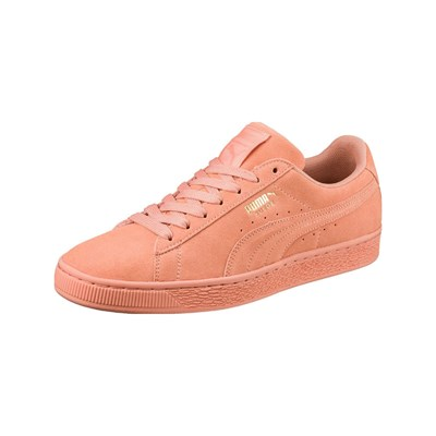 Puma TONAL LEDERSNEAKERS ORANGE