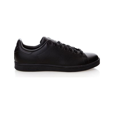 adidas Originals STAN SMITH SNEAKERS CON INSERTI IN PELLE NERO