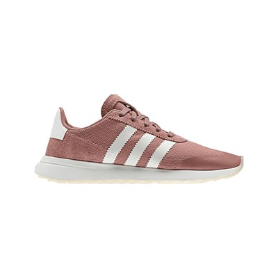 adidas Originals FLASHBACK BASKETS EN CUIR MÉLANGÉ ROSE Chaussure France_v5011