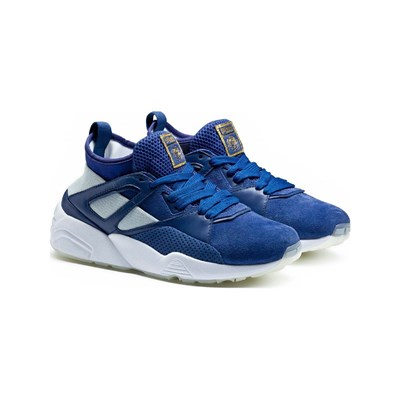 Puma BASKETS RUNNING BLEU Chaussure France_v9521