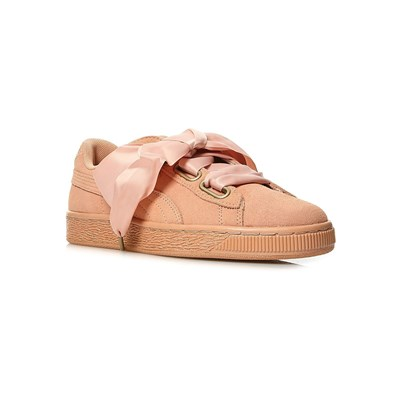 Puma BASKETS EN CUIR ROSE Chaussure France_v6689