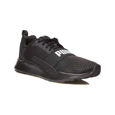 Puma WIRED LOW SNEAKERS SCHWARZ