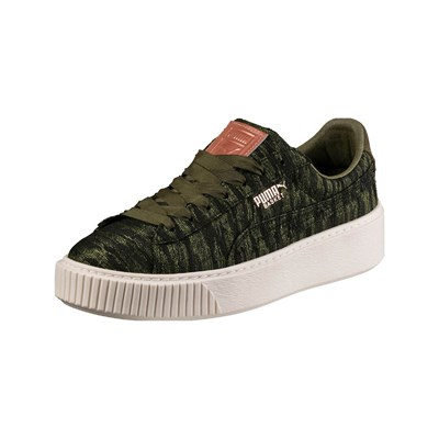 Puma LOW SNEAKERS KHAKI