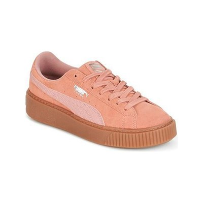 Puma BASKETS EN CUIR ROSE Chaussure France_v2896