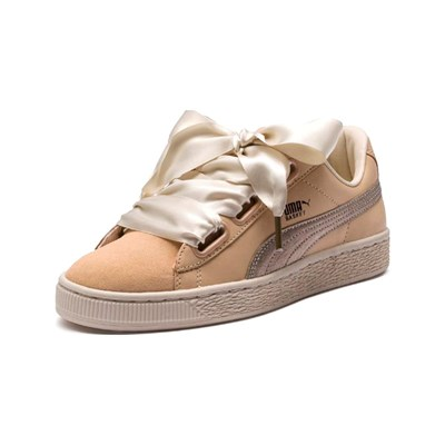 Puma HEART BASKETS BASSES NUDE