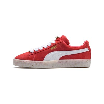 Puma SNEAKERS IN PELLE ROSSO