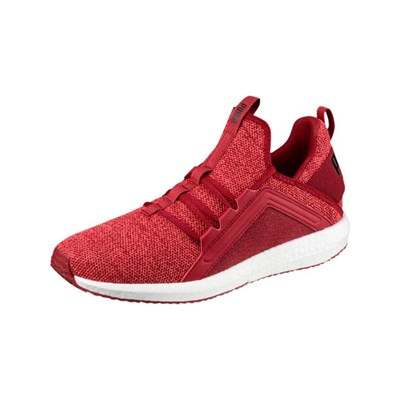 Puma MEGA NRGY KNIT BASKETS RUNNING ROUGE Chaussure France_v4977