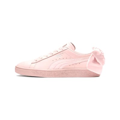 Puma BASKETS EN CUIR ROSE