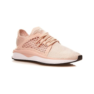 Puma TSUGI NET EVKNIT BASKETS RUNNING ROSE CLAIR Chaussure France_v9537