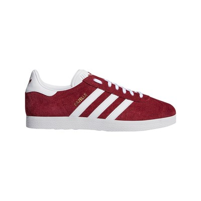 adidas Originals GAZELLE SNEAKERS IN PELLE ROSSO