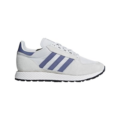 adidas Originals FOREST GROVE W BASKETS EN CUIR BI-MATIÈRE GRIS CHINE Chaussure France_v6890