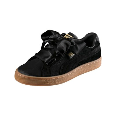 Puma BASKET HEART VS LOW SNEAKERS SCHWARZ