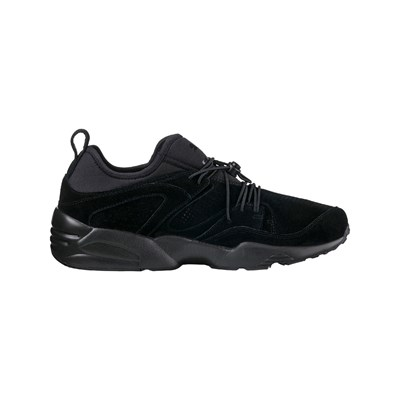 Puma BLAZE OF GLORY SOFT SNEAKERS MIT LEDER SCHWARZ