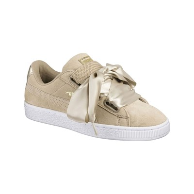 Puma HEART BASKETS BASSES BEIGE Chaussure France_v7603