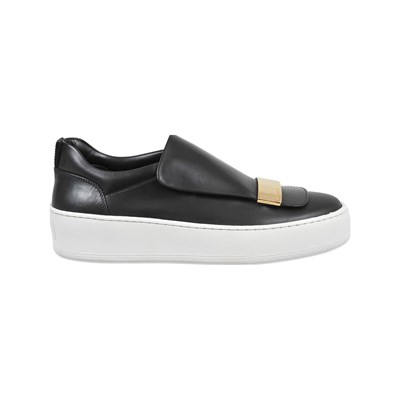 Sergio Rossi ADDICT SLIP-ON EN CUIR NOIR