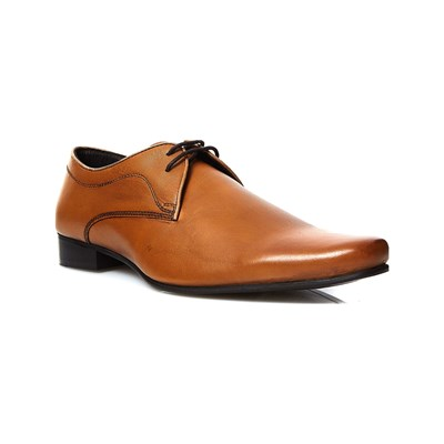 Abaco ABDON DERBIES EN CUIR TABAC Chaussure France_v11500