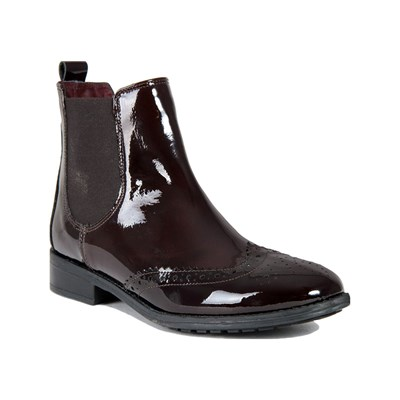Eye LEDERBOOTS BORDEAUXROT