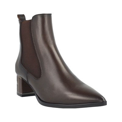 Roberto Botella BOTTINES EN CUIR MARRON