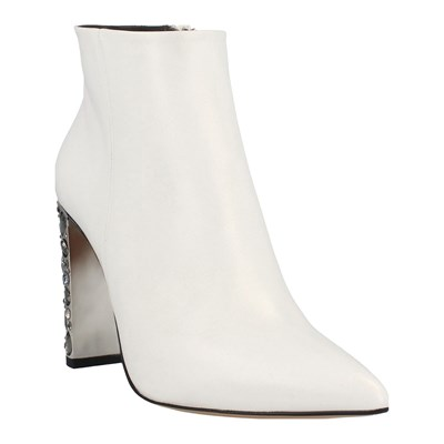 Roberto Botella BOTTINES EN CUIR BLANC Chaussure France_v14294