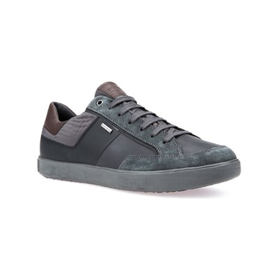 Geox U TAIKI B ABX B LOW SNEAKERS ANTHRAZIT