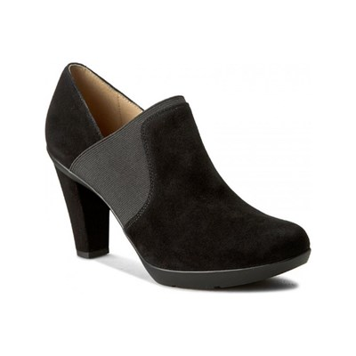 Geox INSPIRATION LOW BOOTS EN CUIR NOIR Chaussure France_v5023