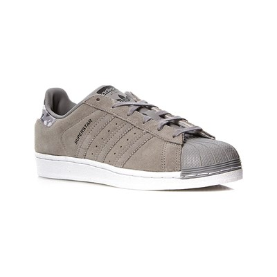 adidas Originals SUPERSTAR J LEDERSNEAKERS GRAU
