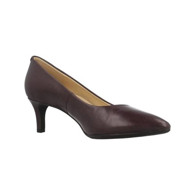 Geox DONNA ESCARPINS EN CUIR PRUNE Chaussure France_v3299