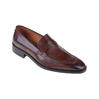 Malatesta MOCASSINS EN CUIR BRUN