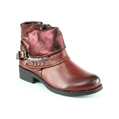 La Bottine Souriante BOOTS ROUGE Chaussure France_v4174