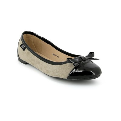 Initiale Paris BALLERINES TAUPE Chaussure France_v251