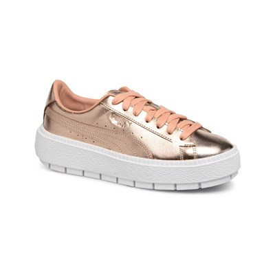 Puma LOW SNEAKERS GOLDFARBEN