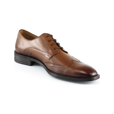 Cesare Conti DERBIES EN CUIR MARRON