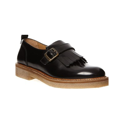 Kickers OXILO MOCASSINI IN PELLE NERO