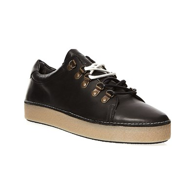 Kickers SPRITE SNEAKERS IN PELLE NERO