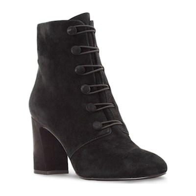 Chaussures Femme | What For ALYS BOTTINES EN CUIR NOIR