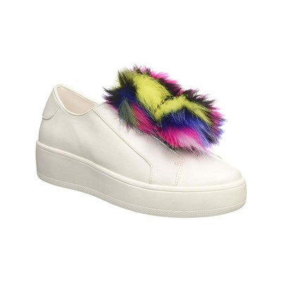 Steve Madden BREEZE SNEAKERS BASSE BIANCO